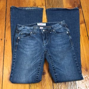3/$27 Candies Medium Wash Flare Jeans
